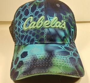 Cabela's Accessories - Cabela's Blue & Green Trucker Cap Hat